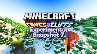 The Final Experimental Snapshot? ▫ Minecraft 1.18 Caves & Cliffs Update