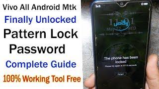 VIVO Y91C Pattern Unlock | FRP |VIVO 1820 PIN UNLOCK | BY