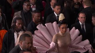 Cardi B On The Red Carpet | 2019 GRAMMYs