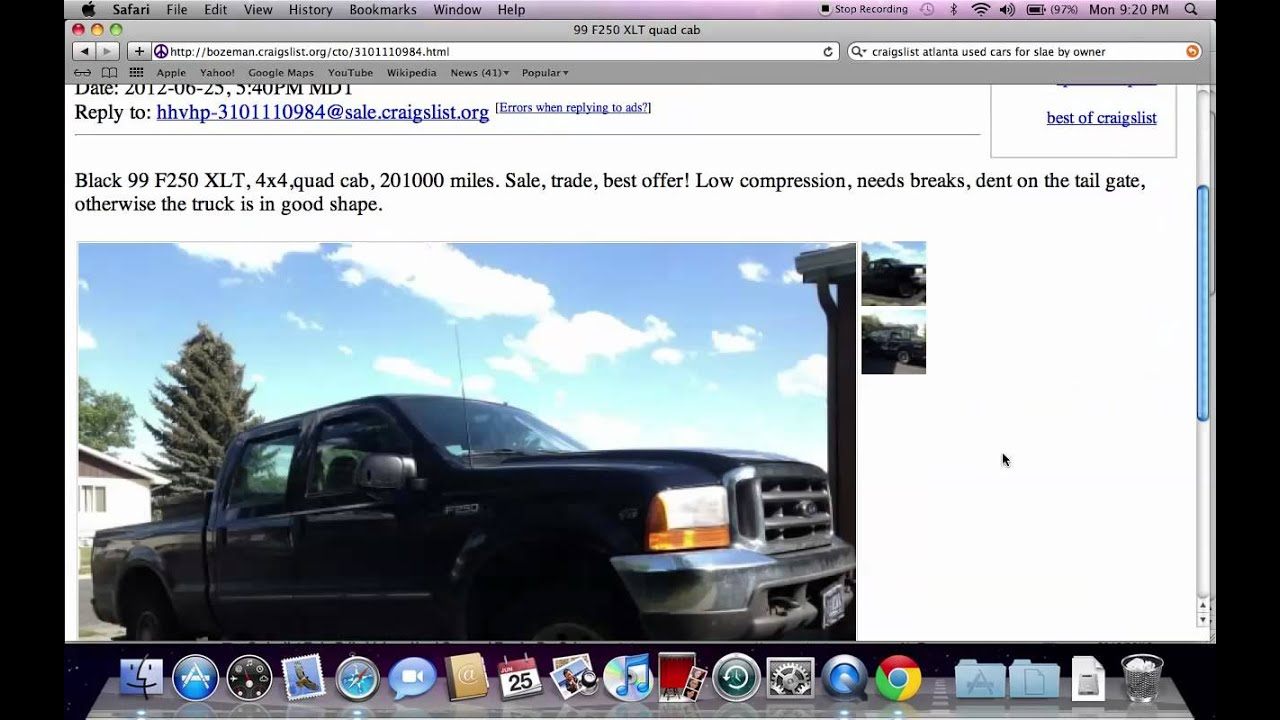 Craigslist Helena Montana Cars And Trucks