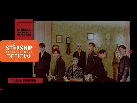 [Preview] 몬스타엑스 (MONSTA X) - 'WE ARE HERE' - The 2nd  Album Take.2