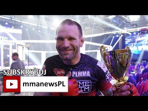 """Matt Horwich po wygranej na PLMMA 73: """"Mirek Okniński to świetny trener i mistrz game planów."""""""