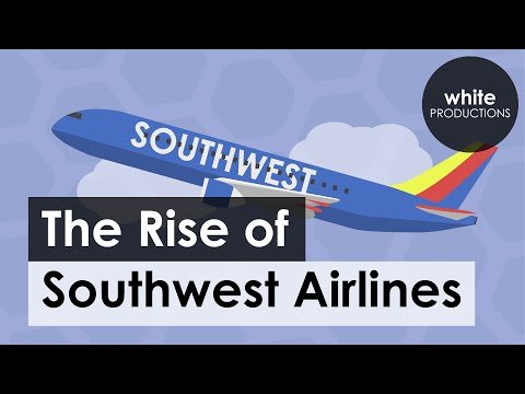 How Southwest Became the Most Popular Airline in the United States