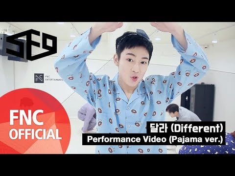 SF9 – 달라 (Different) Performance Video Pajama ver.