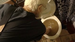 ANGRY GRANDPA'S TOILET TROUBLE!!