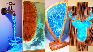 5 Most Amazing Epoxy Resin Lamps / Resin Art /part 2