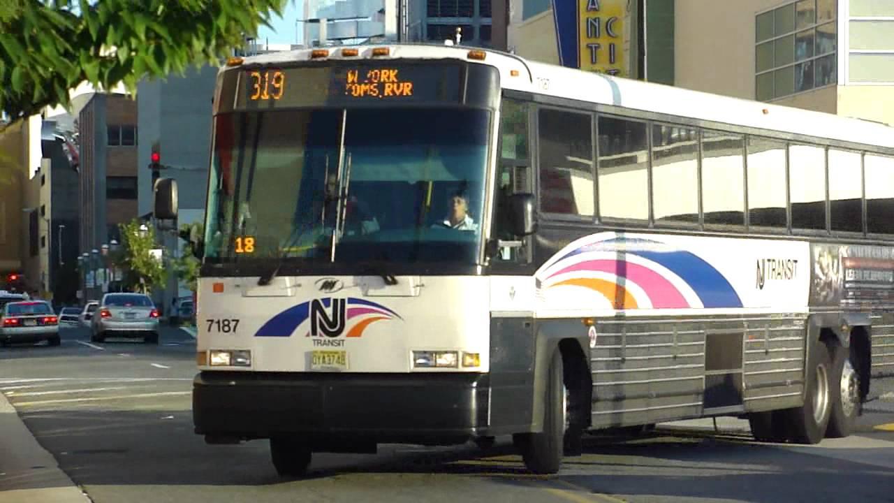 nj transit bus 2007 mci d4500cl route 319 express bus 7187 at atlantic city terminal youtube. Black Bedroom Furniture Sets. Home Design Ideas