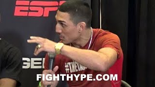 "TEOFIMO LOPEZ TELLS LOMACHENKO AND LINARES ""NO DISRESPECT, BUT I'M HERE TO TAKE OVER"""