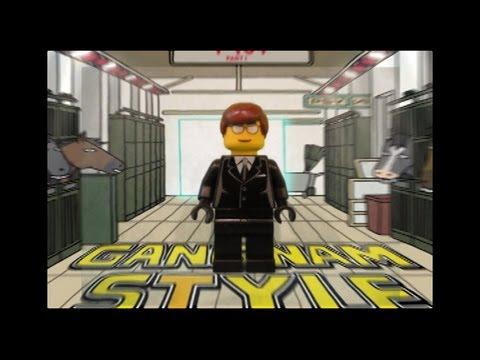 LEGO GANGNAM STYLE! (PSY-Gangnam Style Parody) 강남스타일 By Justin Hyon