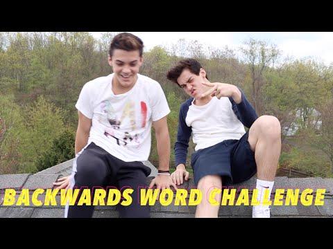 BACKWARDS WORD CHALLENGE