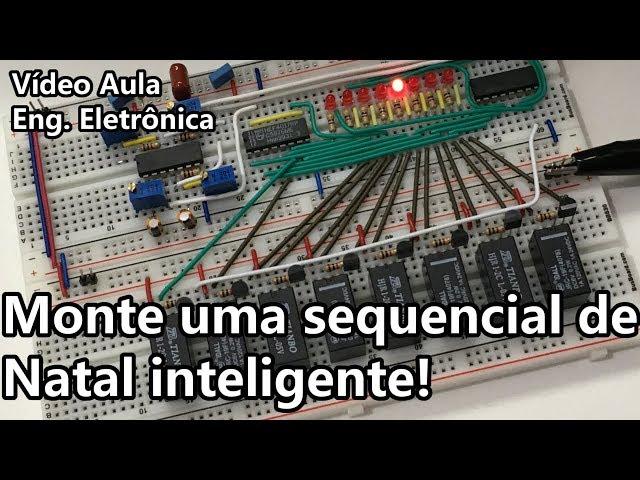 SEQUENCIAL INTELIGENTE PARA O NATAL! Vídeo Aula #305