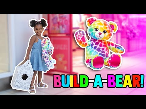 MY FIRST BUILD-A-BEAR WORKSHOP!