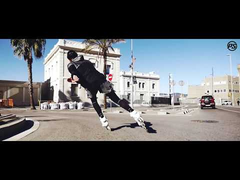 Video POWERSLIDE Roller Vitness SWELL TRINITY BLACK ROAD 125mm 2018 Noir Jaune