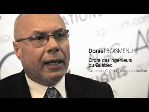 Daniel Boismenu, Directeur général des communications