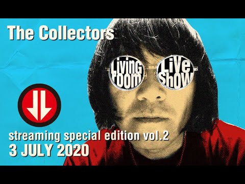 """THE COLLECTORS streaming rock channel """"LIVING ROOM LIVE SHOW"""" Vol.2 trailer"""