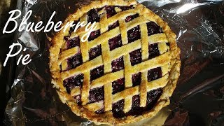 Blueberry Pie - Homemade Blueberry Pie From Scratch - Recipe