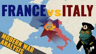France vs Italy: Who would win in a war? (2018)