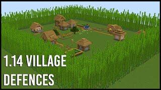 EASY Ways To Defend A 1.14 Minecraft Village