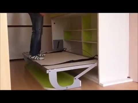 Dormitorios convertibles para habitaciones peque as youtube - Muebles infantiles para habitaciones pequenas ...