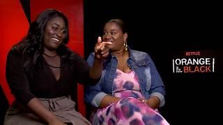 Danielle Brooks & Adrienne Moore Talk Season 5 ORANGE IS THE NEW BLACK