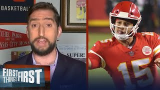 Nick Wright celebrates his KC Chiefs season opener win over Texans | NFL | FIRST THINGS FIRST