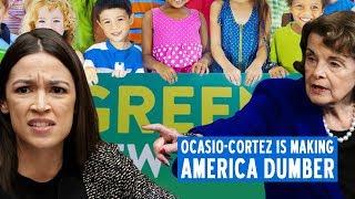 Ocasio-Cortez Is Making America Dumber  | Katie Petrick