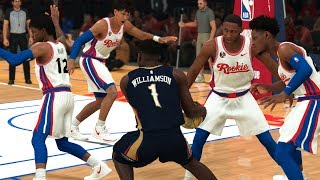 Can Zion Williamson Beat The Rest Of The 2019 Draft Class Alone? | NBA 2K20