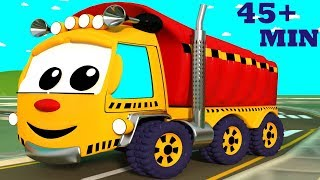 The Wheels on the Truck Go Round and Round | Wheels on the Bus | Plus Many Other Top Nursery Rhymes