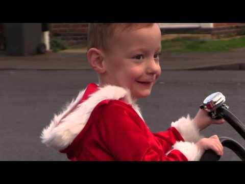 Alfie gets his trike!