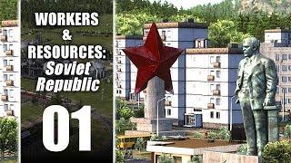 [FR] WORKERS & RESOURCES - 01 - Construire un petit pays de l'Est - gameplay/let's play PC