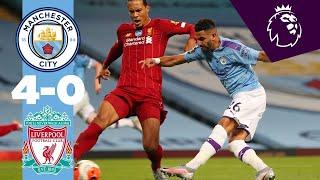 HIGHLIGHTS   Man City 4-0 Liverpool   De Bruyne, Sterling, Foden