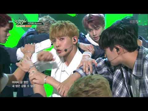 뮤직뱅크 Music Bank - 시작해(Runner) - 업텐션 (Runner - UP10TION).20170714