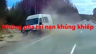 những pha tai nạn xe kinh hoàn