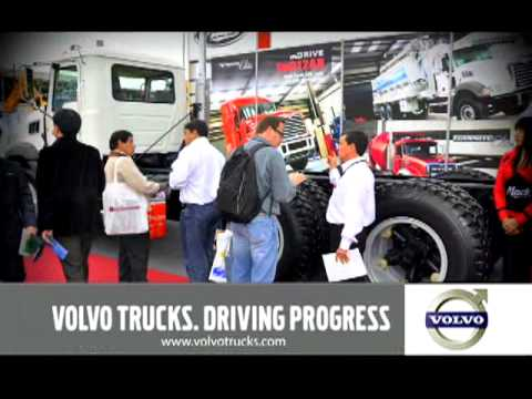 Volvo en el Expomina 2012 - El evento minero más importante del año