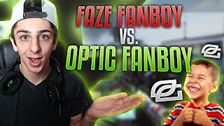 FAZE FANBOY vs OPTIC FANBOY   FaZe Rug