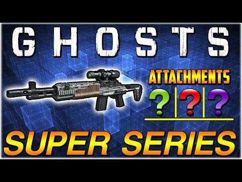 "COD Ghosts: ""THE SUPER MK14 EBR"" Super Series Ep.4 (Call Of Duty Weapons & Guns) - Smashpipe Games"