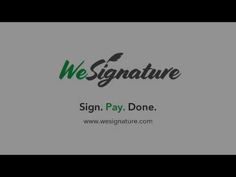 Electronic Signature Free wesignature