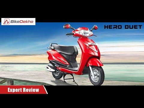 Hero Duet | Expert Review | BikeDekho.com