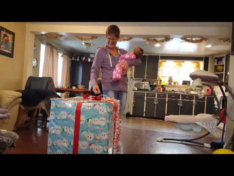 Christmas surprise for mom