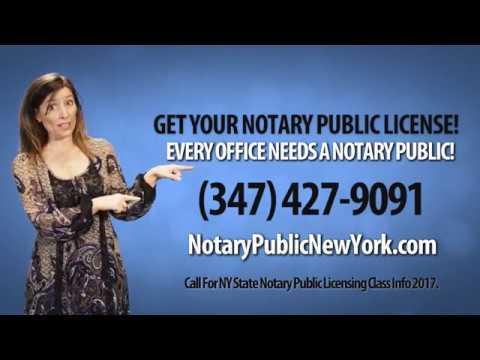 Notary Public Class New York