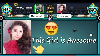 8 Ball Pool | LORD Bahaa VS [ Yên Linh ] + Berlin Platz - Full HD