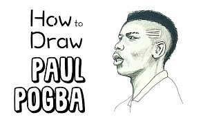 How to Draw Paul Pogba