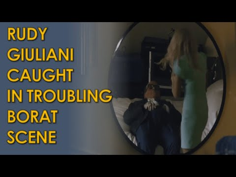 Rudy Giuliani Caught in TROUBLING Video with Borat Actress Maria Bakalova