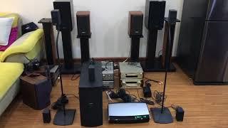 Test dàn Bose 5.1 AV28 sub Ps48 hàng hiếm chất âm rất tuyệt | Dream High Audio