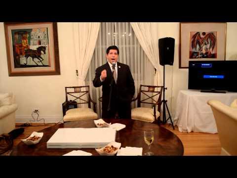 Councilman Vincent Gentile Presents FALDEF with the New York City Council Citation