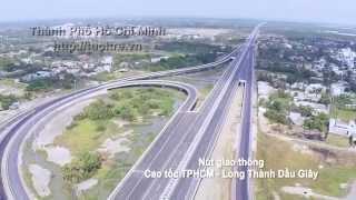 Toàn cảnh Sài Gòn  - TP HCM từ trên cao quay bằng flycam