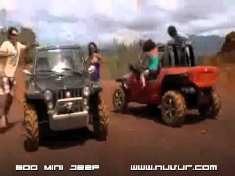 2011 New Mini Jeep Huvur 800efi 4x4 Canada Dune Buggy Jeep