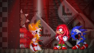 What happens in the duo survival of Tails and Knuckles, if Knuckles only survives? | Sonic.exe SoH!