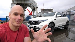 First Drive in an All Electric Mercedes – Whats Under The  Hood?!