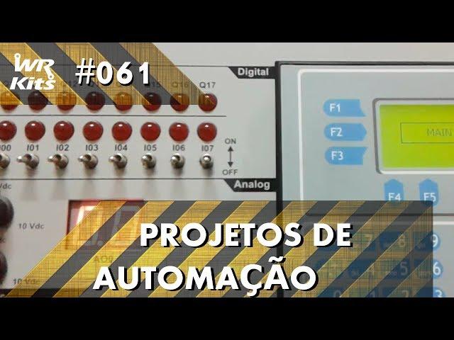 ELEVADOR DE CARGA PEQUENO COM CLP ALTUS DUO | Projetos de Automação #061